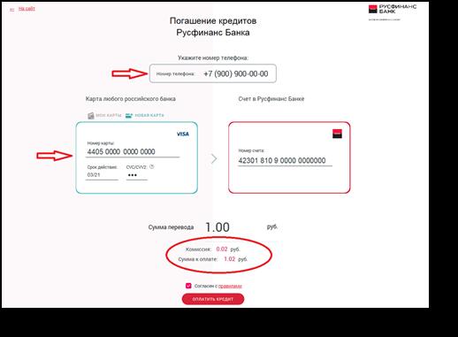 погасить кредит банковской картой онлайн трейд в санкт-петербурге каталог товаров и цены